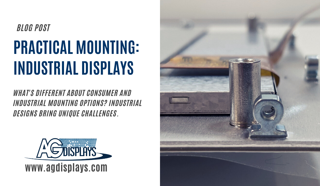 Practical Mounting for Industrial Displays